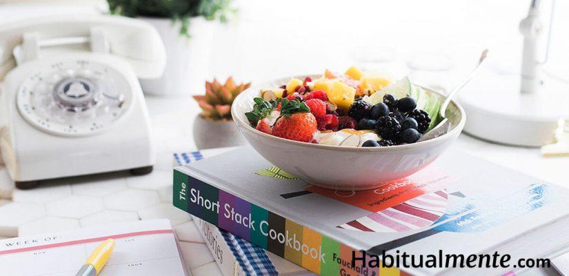 Empieza a cambiar tus hábitos de alimentación en 2 minutos