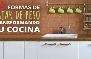 Infográfico: 25 formas de perder peso transformando sua cozinha