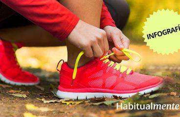 Infográfico:10 benefícios do exercício e 10 de aprendizagem para a vida