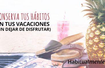 Como manter seus hábitos saudáveis em férias