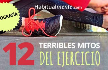 INFOGRÁFICO: 12 terríveis mitos do exercício que, provavelmente, acha – Habitualmente