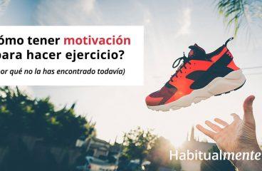Como ter motivação para fazer exercício?