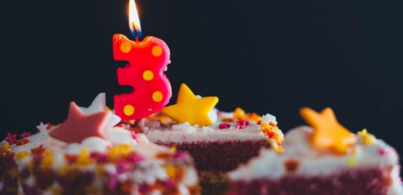 Festeja conmigo el tercer aniversario de Habitualmente   Habitualmente