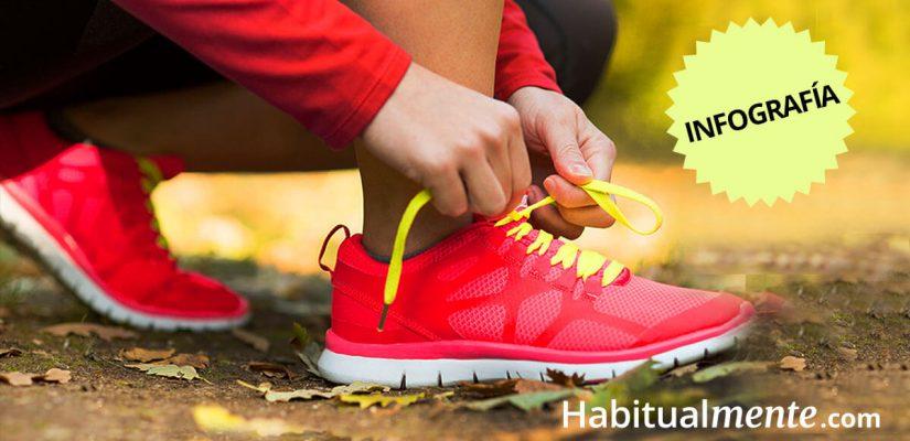 Infografía:10 beneficios de hacer ejercicio y 10 aprendizajes para la vida