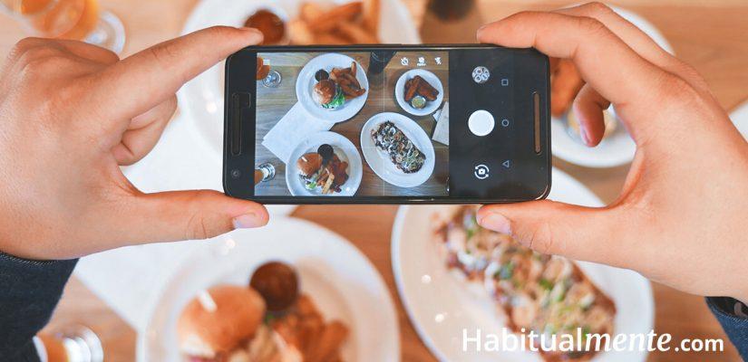 Toma el control de lo que comes y baja de peso con solo tomar fotos   Habitualmente