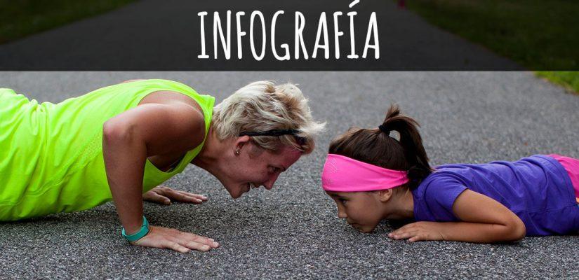 INFOGRAFÍA: 15 formas de empezar a hacer ejercicio