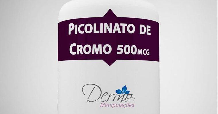imagem frasco Picolinato de cromo